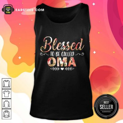 Blessed To Be Called Oma Mother Day Tank Top- Design By Earstees.com