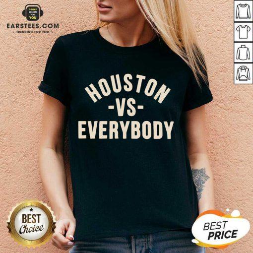 Good Houston Vs Everybody 2021 Relaxed V-neck