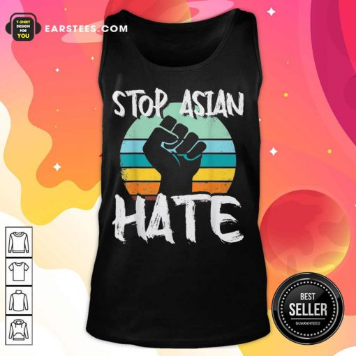 Good Stop Asian Hate Hand Vintage Tank Top