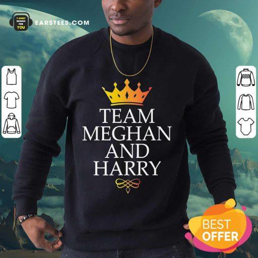 Happy Team Meghan And Harry Wonderful 5 Sweatshirt