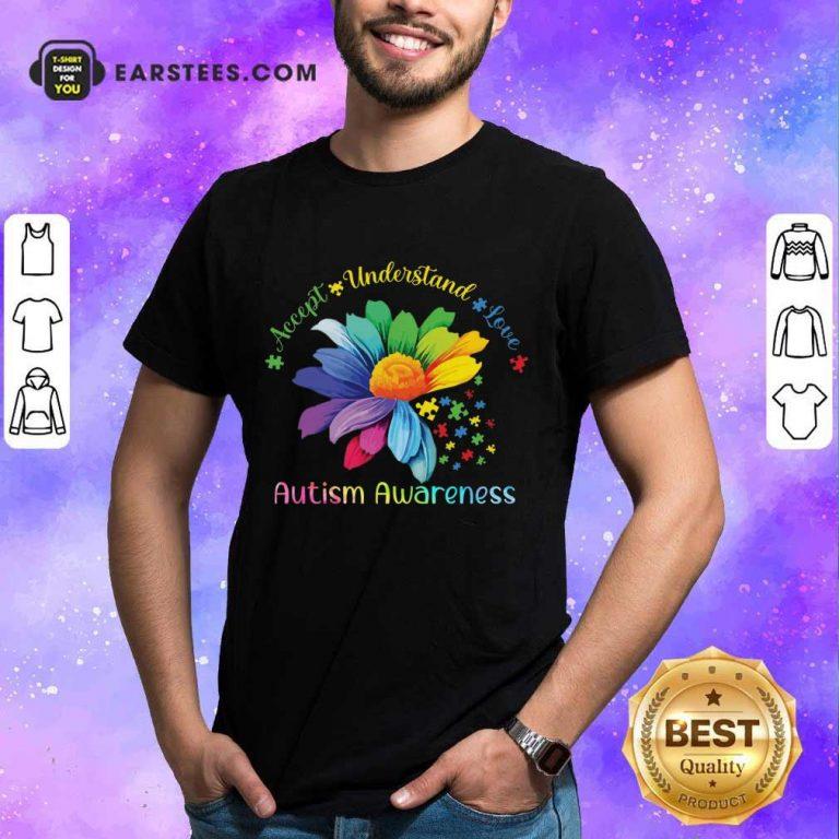 Hot Accept Understand Love Autism Awareness Shirt
