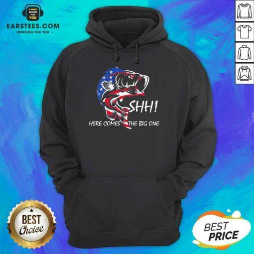 Hot American Flag Fishing Great 86 Hoodie