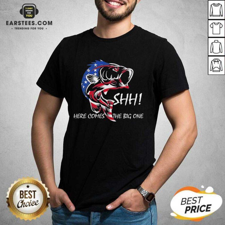 Hot American Flag Fishing Great 86 Shirt