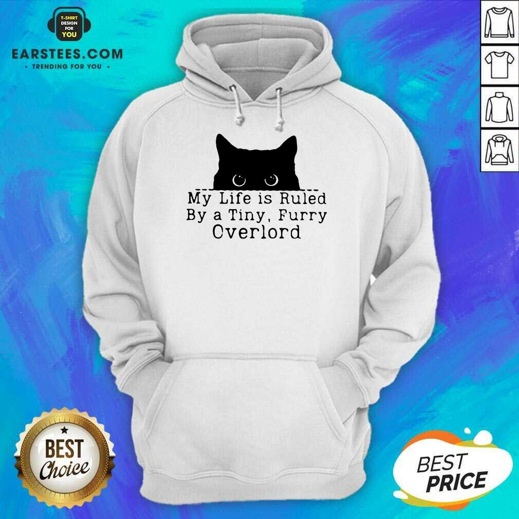 Hot Black Cat My Life Furry Overlord Hoodie