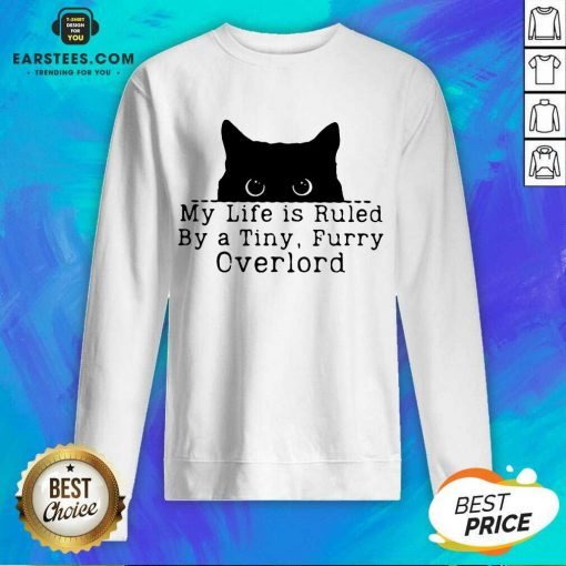 Hot Black Cat My Life Furry Overlord Sweatshirt