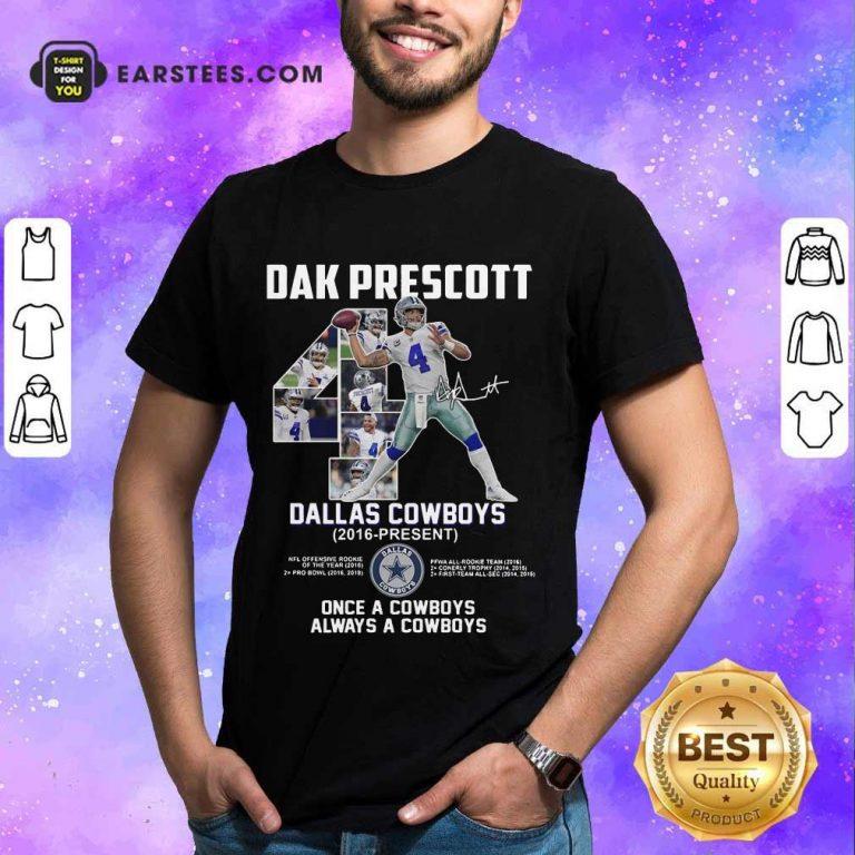 Hot Dak Prescott 4 Dallas Cowboys 2016 Shirt