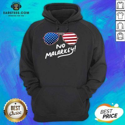 Hot Glasses American Flag No Malarkey 2 Hoodie
