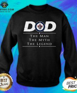 Nice Dad The Man The Myth The Legend Sweatshirt