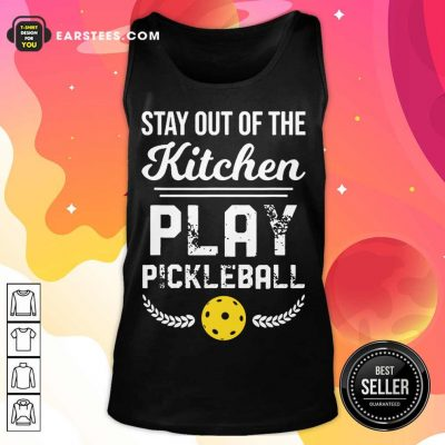Nice Kitchen Play Pickleball Excited Tank Top