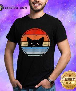 Nice Retro Black Cat Confident Great 45 Shirt