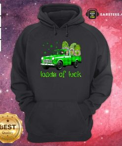 Leprechaun Gnomes Loads Of Luck St Patricks Day Hoodie- Design By Earstees.com