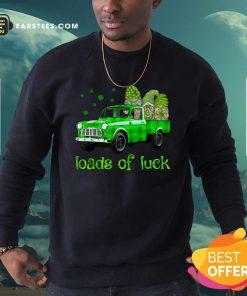 Leprechaun Gnomes Loads Of Luck St Patricks Day Sweatshirt- Design By Earstees.com