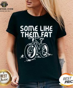Official Some Like Them Fat Surprised V-neck