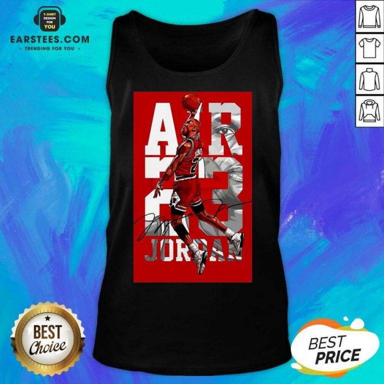 Original Air 23 Michael Jordan Poster Tank Top