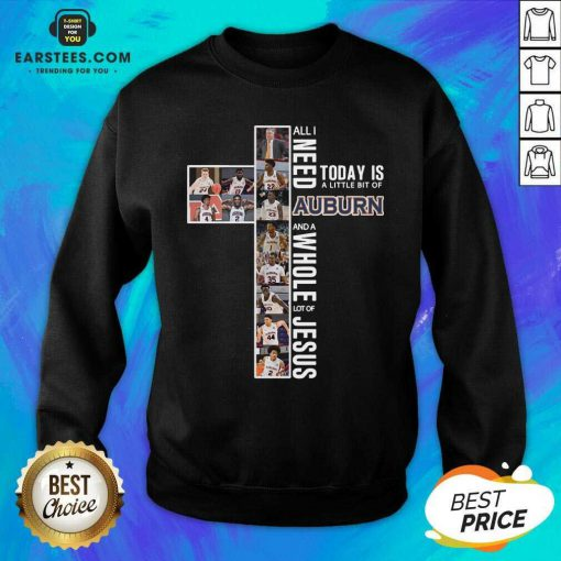 Original Cross Auburn Whole Jesus 2 Sweatshirt