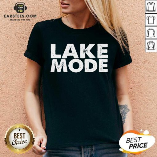 Original Lake Mode Overjoyed 2021 V-neck