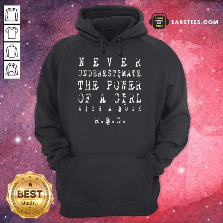 Original Never Underestimate Girl RBG 5 Hoodie