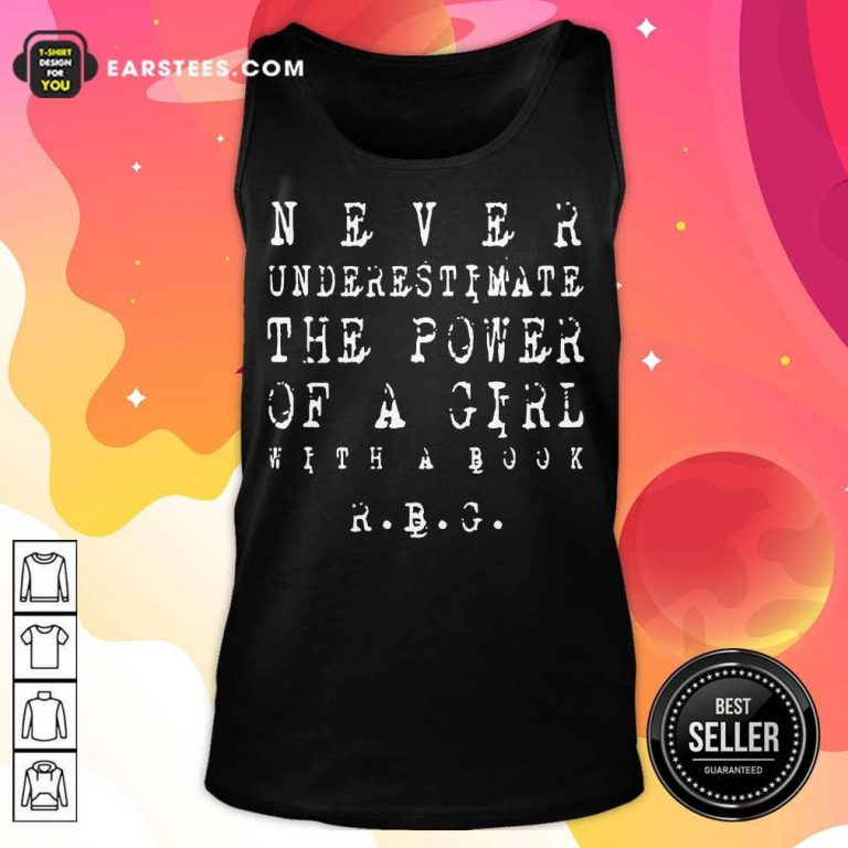 Original Never Underestimate Girl RBG 5 Tank Top