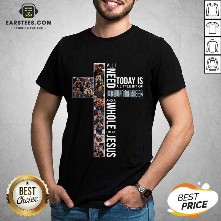 Original West Virginia Mountaineers Jesus Shirt
