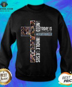 Original West Virginia Mountaineers Jesus Sweatshirt