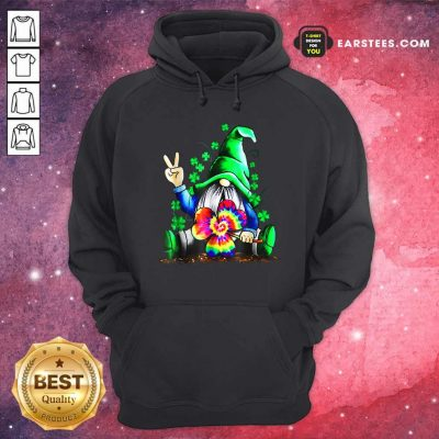 Hippie Gnome Happy Patricks Day Hoodie- Design By Earstees.com