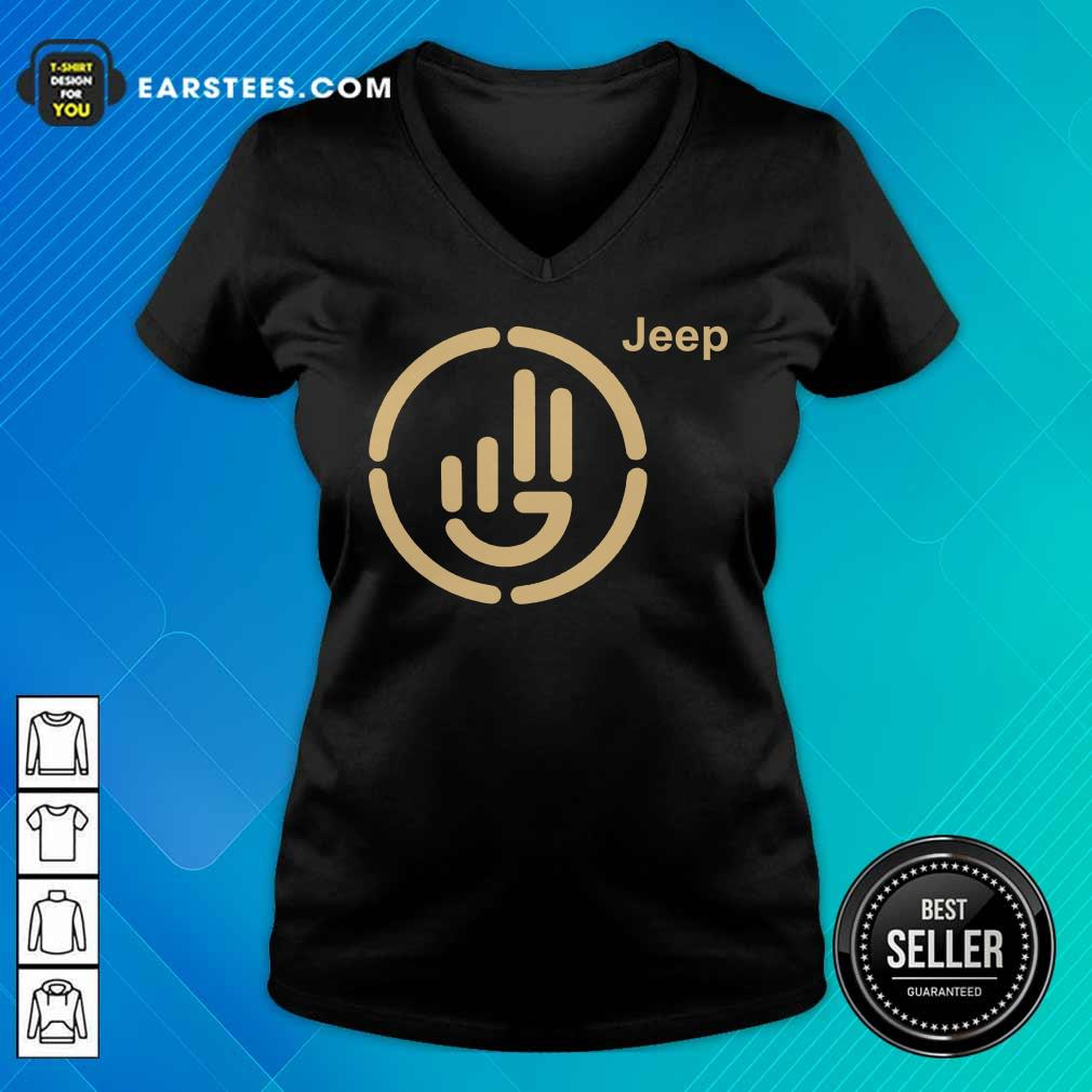 Perfect Jeep Wave Cloth Overjoyed 77 V-neck