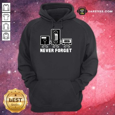 Perfect Retro Vintage Forget Cassette 6 Hoodie