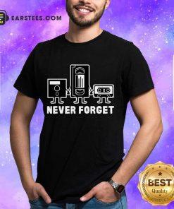 Perfect Retro Vintage Forget Cassette 6 Shirt
