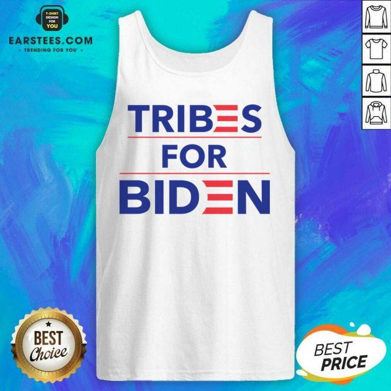 Perfect Tribes For Biden Terrific Tank Top