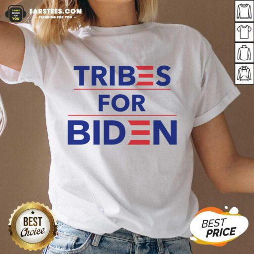 Perfect Tribes For Biden Terrific V-neck