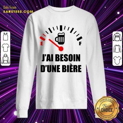 Premium J'Ai Besoin D'Une Bière Sweatshirt