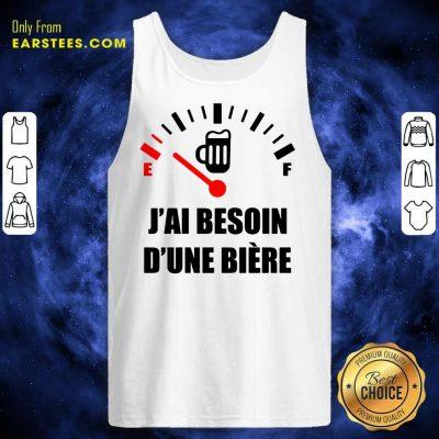 Premium J'Ai Besoin D'Une Bière Tank Top