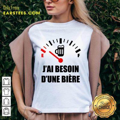 Premium J'Ai Besoin D'Une Bière V-neck