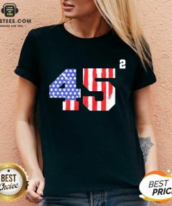 Pretty 45 Squared Second Team USA V-neck