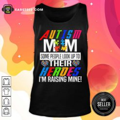 Pretty Autism Mom Some Heroes Tank Top