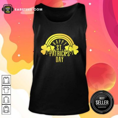 Happy Patricks Day Tank Top- Design By Earstees.com