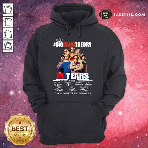 Pretty The Big Bang Theory 14 Years Hoodie