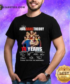 Pretty The Big Bang Theory 14 Years Shirt