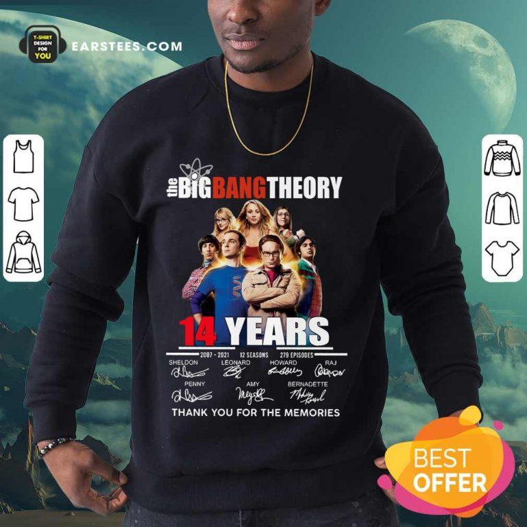 Pretty The Big Bang Theory 14 Years Sweatshirt
