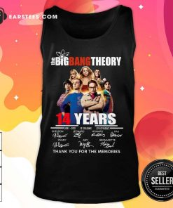 Pretty The Big Bang Theory 14 Years Tank Top