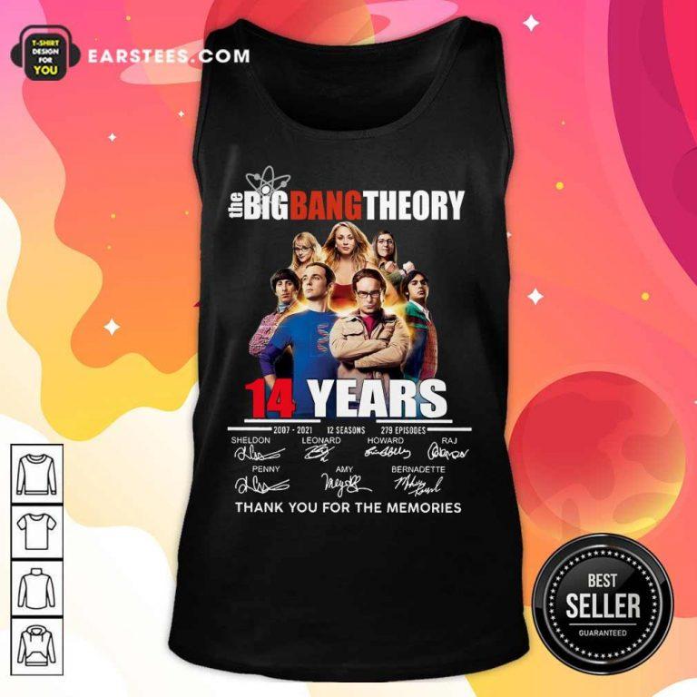 Pretty The Big Bang Theory 14 Years Tank Top