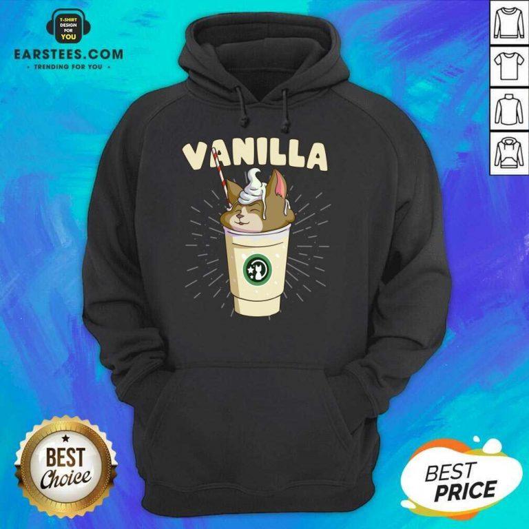 Pretty Vanilla Cappuccino Cute Cat 2 Hoodie