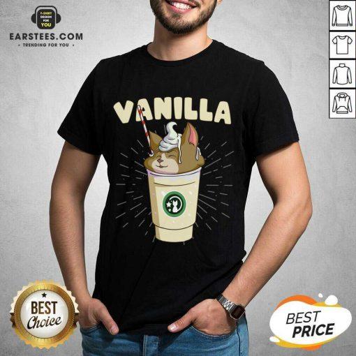Pretty Vanilla Cappuccino Cute Cat 2 Shirt