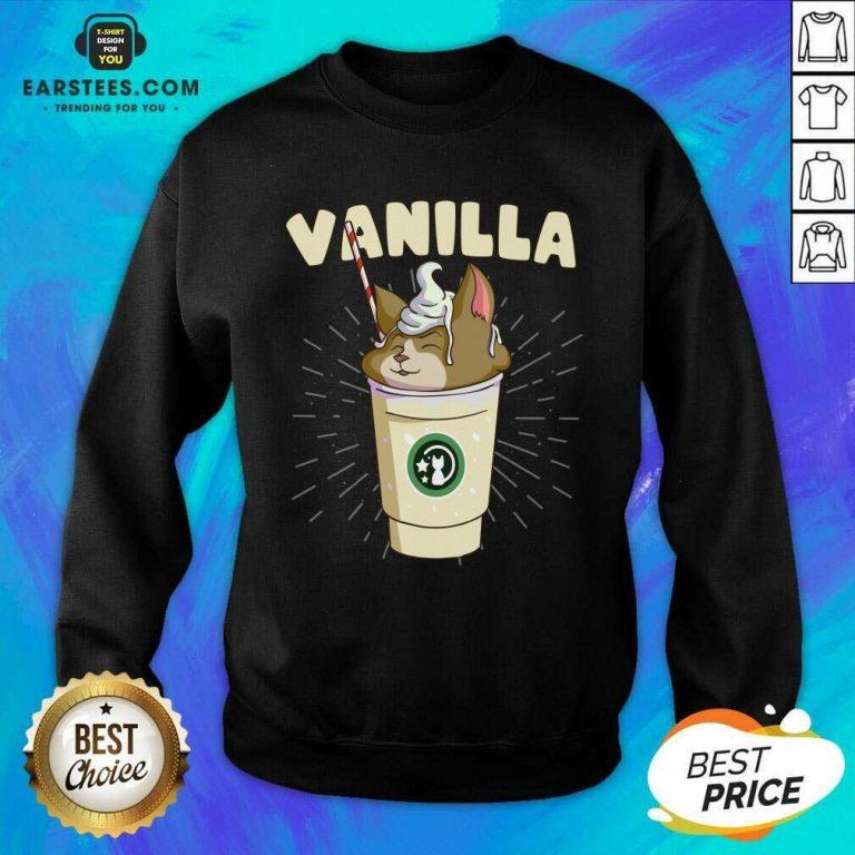 Pretty Vanilla Cappuccino Cute Cat 2 Sweatshirt