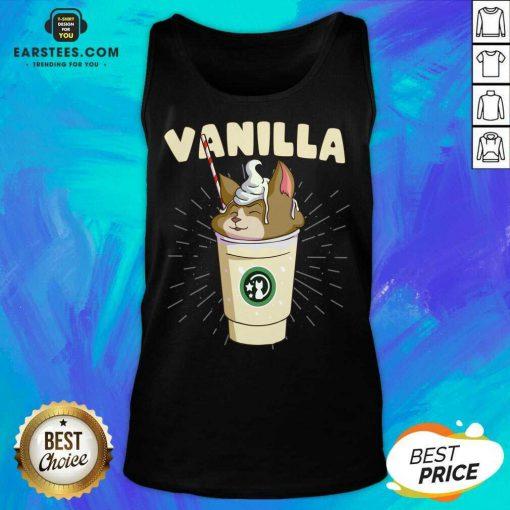 Pretty Vanilla Cappuccino Cute Cat 2 Tank Top