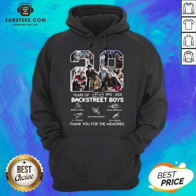 Top 28 Years Of BSB 1993 Backstreet Boys Hoodie
