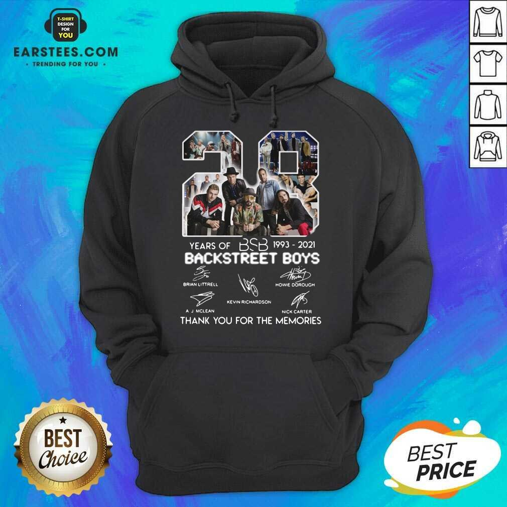 Top 28 Years Of BSB 1993 Backstreet Boys Hoodie