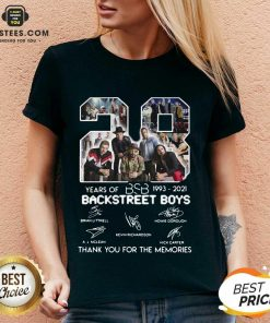 Top 28 Years Of BSB 1993 Backstreet Boys V-neck