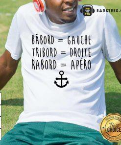 Top Bâbord Gauche Tribord Droite Anchor Shirt