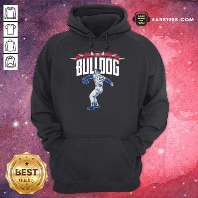 Top Orel Hershiser The Bulldog Great 55 Hoodie